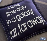 Galaxy Far Far Away Pillow