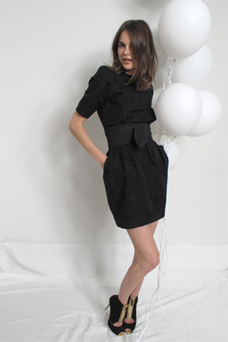 Stella M. Black Short Dress