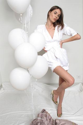 Stella M. White Jumpsuit